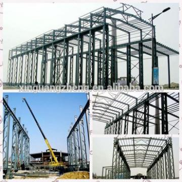 design prefab steel structure double storey warehouse