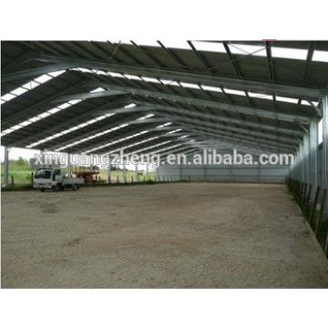 Prefabricated Galvanized Steel Greenhouse Frame for Sale