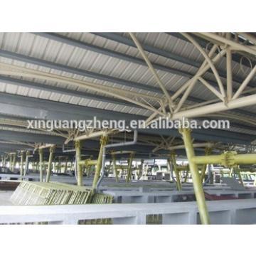 low cost steel structure garage & storage hall
