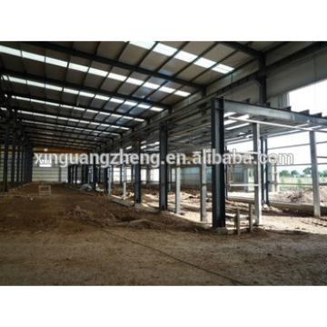 Metal building construction industrial shed designs prefabricated light steel structure kuwait