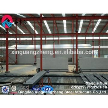 prefab light steel material structure hall shed prefabricated hangar building
