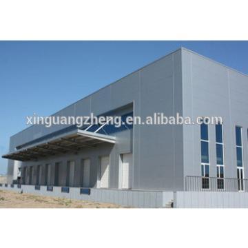 Prefabricated African Ethiopian corrugated steel sheet workshop/warehouse