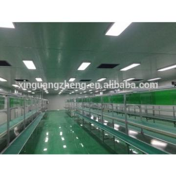 steel structure chicken farm building poultry broiler house steel chicken shed