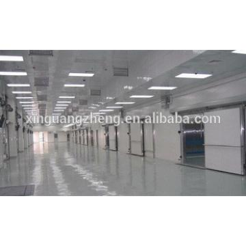 prefabricated steel building warehouse roof structure portal frame fabrication