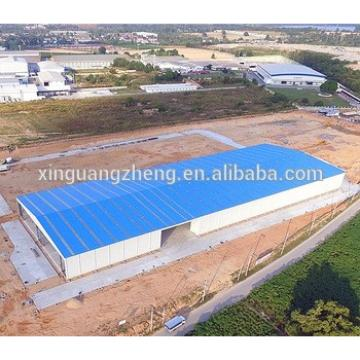 Low cost storage steel structure shed