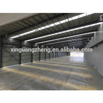prefabricated light steel frame house/light prefab steel sheds building