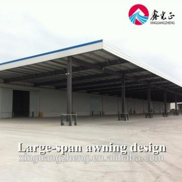 Industrial construction building steel structure shed design