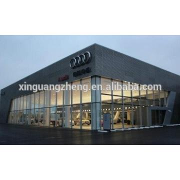 Prefabricated integrated exhibition room building