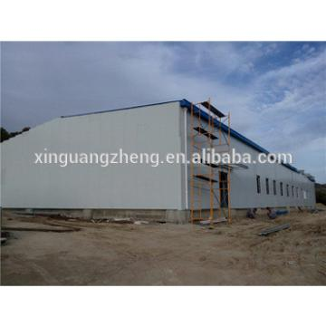 prefabricaed iron structure warehouse building