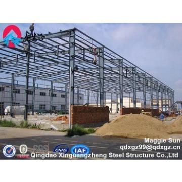 light weight steel frame warehouse construction
