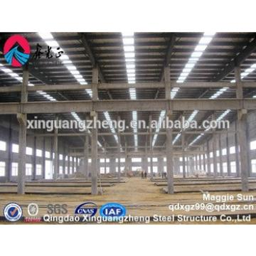 Prefabricated Industrial PEB Structural Steel Frame for Construction