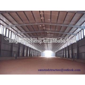 Heavy duty large span steel structure building construction design