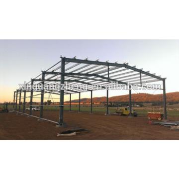 installation construction steel structure prefab barn building