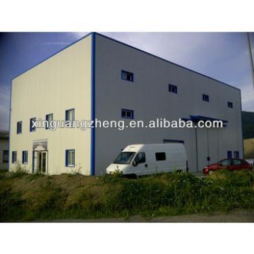 Two - floor steel structure warehouse workshop storage