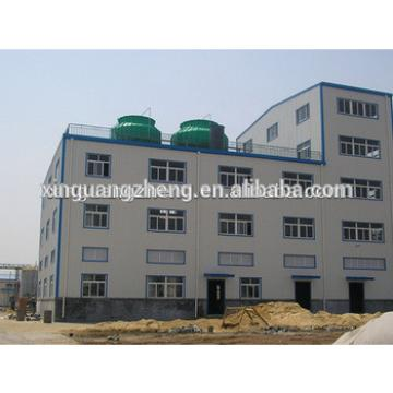 Steel structure multi floor warehouse construction building with CE certification