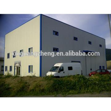 two story prefabricated rice finished warehouse