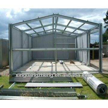 Low cost modern steel structure plant
