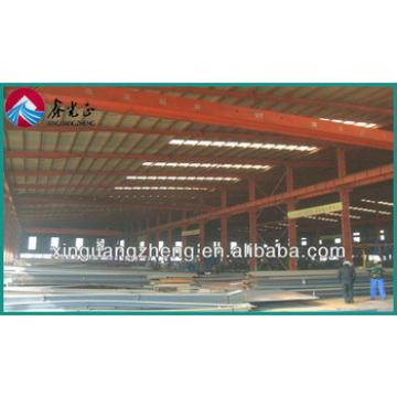 prefabricated modular steel frame warehouse construction
