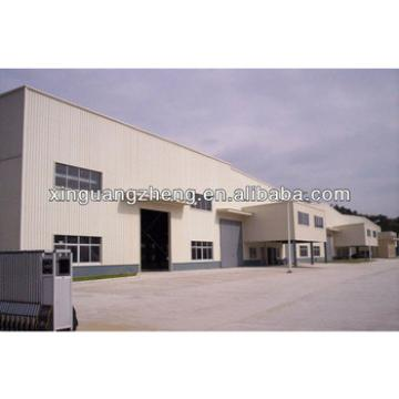 light steel frame pre-fabricated workshop shed design and construction