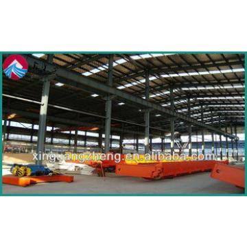 Truss - frame steel structure warehouse