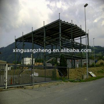 two story steel structure warehouse / workshop / storage