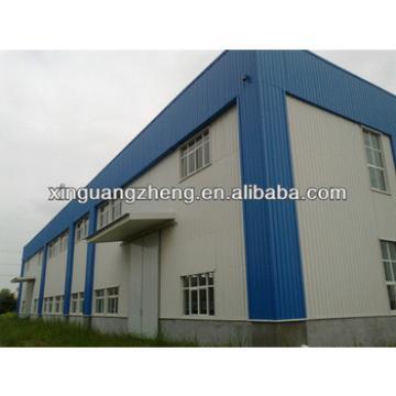 Prefabricated steel sandwich panel warehouse