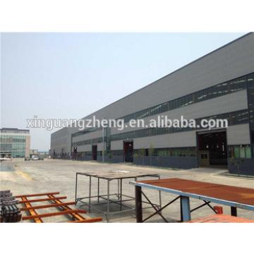 Easy construction fabrication building steel structure shed