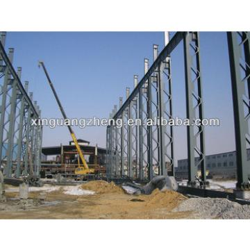 light large span steel frame modular building design construction
