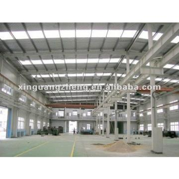 steel construction shed structure