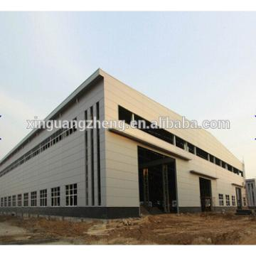 high quality prefabricated turnkey steel structure warehouse project