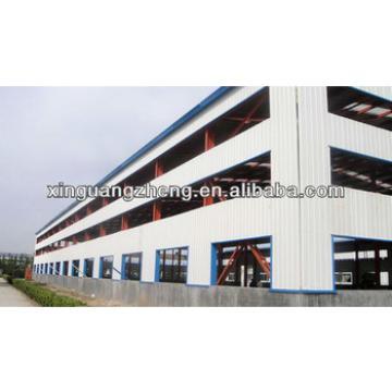 light steel structure steel storage warehouse shelter