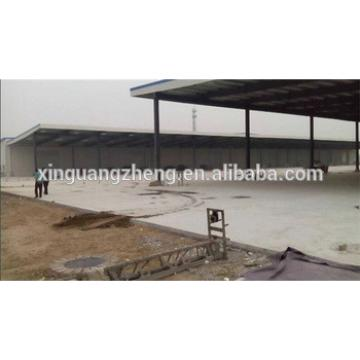 prefab turnkey modern large steel structure warehouse