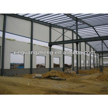 light large span steel space frame steel structure warehouse building design