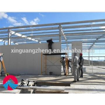 Prefabricated Double Storey Structural Steel Buildings