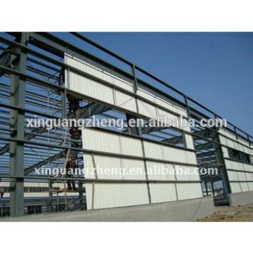 galvanized steel struction and manufacture workshop light steel structure
