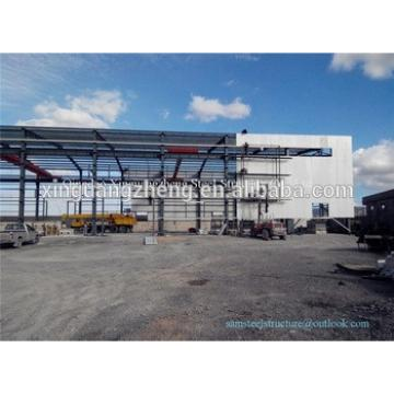 Prefabricated Metallic Building Steel Structure Shed in UAE