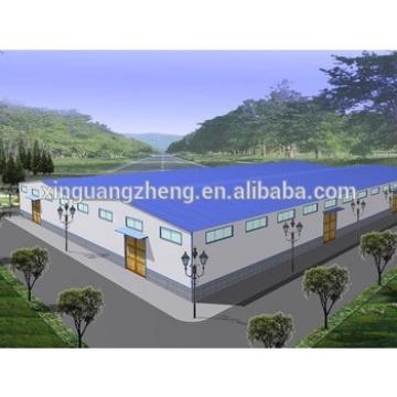 Prefabricated Steel Structural Industrial paint Factory Layout Design