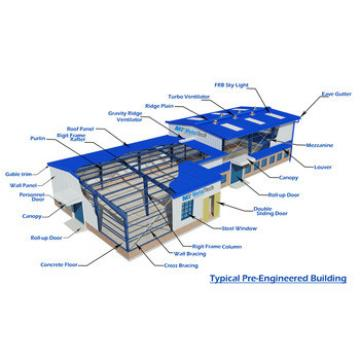 low cost metal structure house