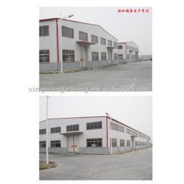 light steel prefabricated frame warehouse