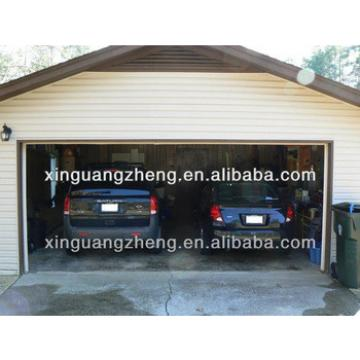 Prefab steel structure garage /warehouse/workshop/poultry shed/aircraft/building