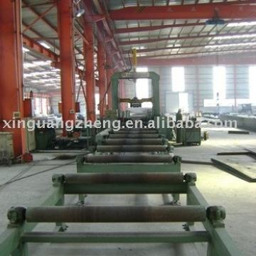 High steel frame workshop