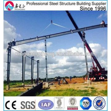 structural steel iron frame warehouse construction
