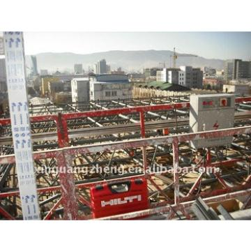 light steel structure prefabricated commercial center construction
