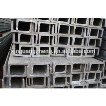 "china good quality steel U channel 4"" four inch"