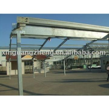 light metal steel frame construction building project for sale