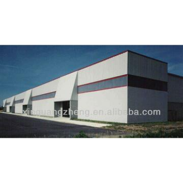 steel industrial storage building
