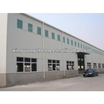 prefabricated light steel structure two storey warehouse building
