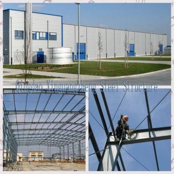 Low Cost Pre fab warehouse building