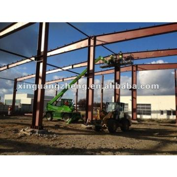 light prefabricated structural steel shed