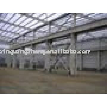 light prefabricated steel structure shed